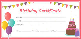 Fillable Gift Certificate Template Free Free Birthday Gift Certificate Template In Adobe Voucher