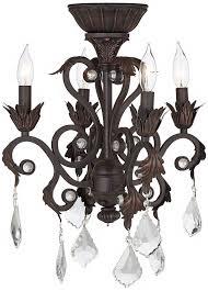 sensational design crystal chandelier light kit for ceiling fan 40