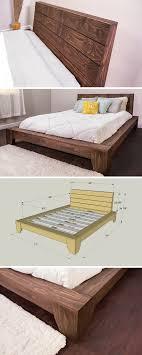 diy pallet queen platform bed