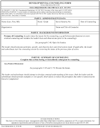 Guidelines On Completing A Da Form 4856 Armystudyguide Com