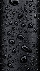 Please contact us if you want to publish a black phone wallpaper on. Black Raindrops Hd Smartphone Wallpaper Black Phone Wallpaper Galaxy S8 Wallpaper S8 Wallpaper