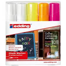 <b>Edding Набор маркеров</b> меловых E-4090 4-15 мм - Акушерство.Ru