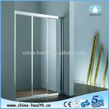 modern sliding glass shower doors. Charming Three Panel Sliding Shower Door D79 On Modern Home Decoration Ideas Designing With Glass Doors V