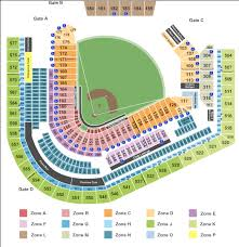 Progressive Field Seating Chart 2017 Fresh Wrigley Field
