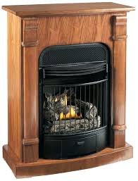 natural gas fireplaces canada free standing gas log fireplace four in one dual fuel vent free