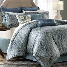 Paisley Bedroom Lancaster Paisley Comforter Bedding Blue Target I08 Msexta