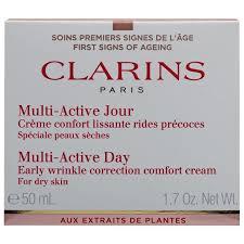 clarins dry skin cream