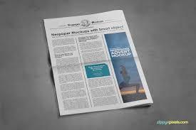 Newspaper Psd Template Download 9 Newspaper Psd Advertisement Mockups Vol 8 On Behance