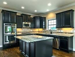 dark stained kitchen cabinets.  Dark Refinishing Oak Kitchen Cabinets Dark Stain Cabinet Wood Throughout Staining  Plans 12 Stained R
