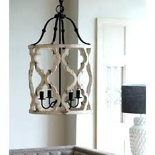 post white wooden lantern washed lanterns chandelier 4 light wood candle style parrot uncle
