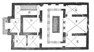 roman atrium house plan ancient roman style house plans modern floor