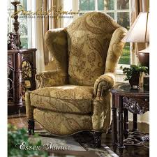 Michael Amini Living Room Furniture Essex Manor High Back Wing Chair By Michael Amini D2d Furniture Store
