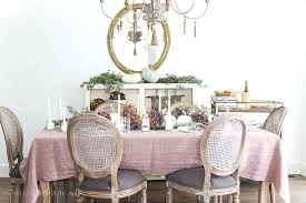 french country chandelier purple green in fall dining room persian white