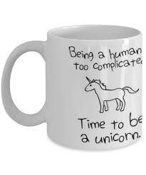 Time To Be A Unicorn Funny Mug Quote Mug Coffee Mug Tea Drink