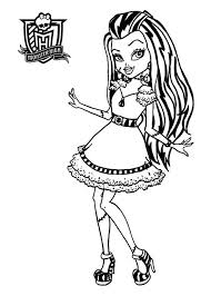 Small Picture The 25 best Monster high para colorear ideas on Pinterest