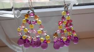 how to create beautiful crystal chandelier earrings diy crafts tutorial guidecentral