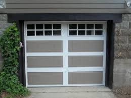 image of modern fiberglass garage doors