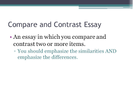 compare and contrast essay structure compare and contrast essay compare and contrast essay structure 2 compare
