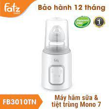 Chính Hãng] Máy hâm sữa và tiệt trùng điện tử Fatzbaby Mono 7 FB3010TN - Máy  hâm sữa Fatz Baby - Máy tiệt trùng, hâm sữa Hãng Fatz baby