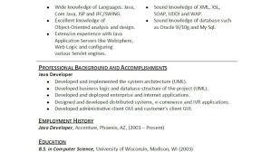 resume : Java Developer Resume Awe-inspiring Java Developer Resume ...