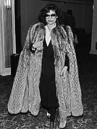 street style vintage fur coats 2