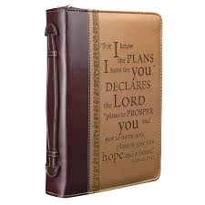 i know the plans two tone book cover jeremiah 29 11
