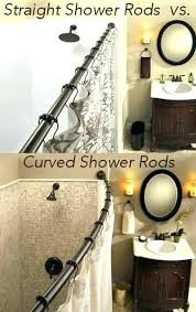 moen double curved shower rod straight curtain 5 foot chrome vs rods from dn2141ch adjule