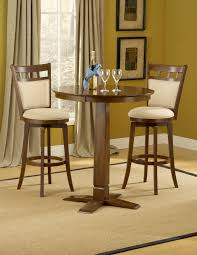 wondrous home pub table furniture with polished teak wood piece fascinating corner design set feat two