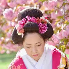 京都結婚式前撮りの髪型と日本髪のメイクキキフォト
