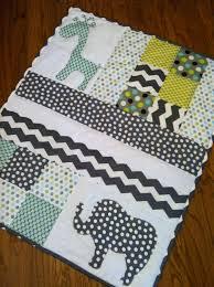 Handmade Baby Quilt with Elephant and Giraffe Applique. $125.00 ... & Handmade Baby Quilt with Elephant and Giraffe Applique. $125.00, via Etsy. Adamdwight.com