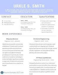 Electrical Estimator Resumes Best Resume For Electrical Engineer Emelcotest Com