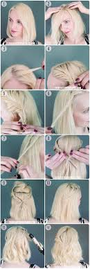start with clean dry hair