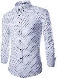 Men's Patterned Dress Shirts Adorable OCIA Men's Tiny Mushroom Luxury Patterned Dress Shirts Casual