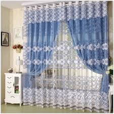 Pretty Bedroom Curtains Charming Bedroom Curtains With Over Blinds Also Large White Window