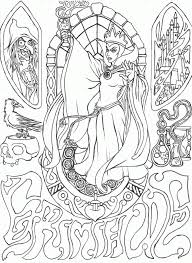 Disney Villains Coloring Pages Coloring Page