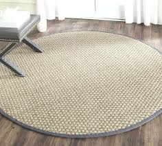 round seagrass rug laurel foundry modern farmhouse brown gray area rug seagrass rug with black border