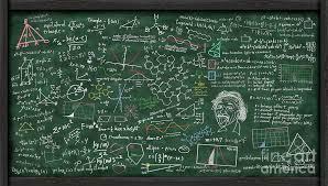 Maths Formula On Chalkboard 3