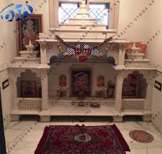 Stone Mandir Design Ambaji White Marble Polished Antique Design Temple And Mandir Buy Marble Temple Designs For Home White Marble Mandir For Home Home Mandir Design