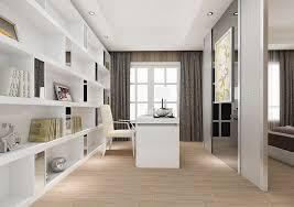 Modern Minimalist Study For Master Bedroom