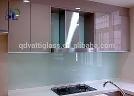 4mm 6mm back painted glass for cabinet doors back