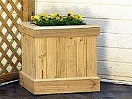 how to make a diy wooden planter box