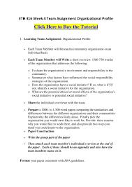 ethweekteamassignmentorganizationalprofile phpapp thumbnail jpg cb