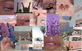 Aesthetic Backgrounds Collage For Laptop