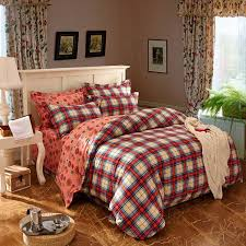 popular red plaid duvet cover red plaid duvet cover lots pertaining to plaid duvet covers king ideas