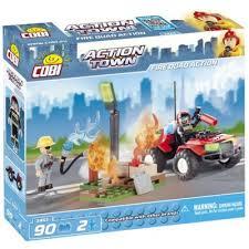 <b>Конструктор COBI Пожарный квадроцикл</b>; 90 деталей (COBI-1461)