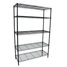5 shelf wire rack 5 shelf 36 in w x 16 in l x 72 in 4 shelf