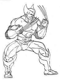 Small Picture 15 wolverine coloring pages for kids sharp claws x men Print