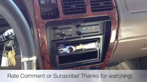 JVC ELECTRONICS KD-R730BT 1996 Toyota 4Runner Radio Install Los ...
