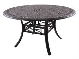 darlee outdoor living series 88 cast aluminum antique bronze 54 round dining table