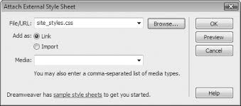 4. Introducing Cascading Style Sheets - Dreamweaver CS4: The Missing ...
